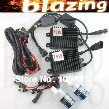 75 Вт 12 В КСЕНОНОВЫЕ CONVERSION KIT Car Light H1 H3 H7 H8 H9 H10 H11 880 881 9005 9006 HB3 HB4 4300 К-12000 К