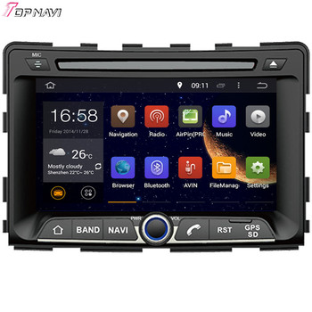 Wanusual 7 ''Quad Core Android 5.1 автомобиль DVD играть на SsangYong Rexton 2006-/Rodius 2004-/ stavic/Micro stavic 2004-Авторадио GPS