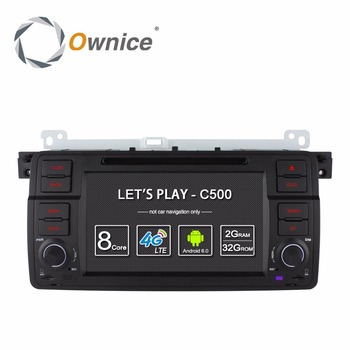 "Ownice C500 7 ""Android 6.0 Quad Core для bmw E46 M3 автомобиль dvd gps navi wi-fi 4 Г BT Радио RDS 2 ГБ RAM 16 ГБ ROM поддержка DAB + TPMS"
