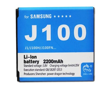EB-BJ100BBE для Samsung J1 J100 SM-J100 J100F J100H J100FM 1850 мАч Donglilong EBBJ100BBE
